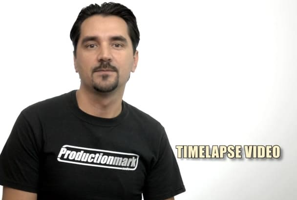 create timelapse video from your pictures
