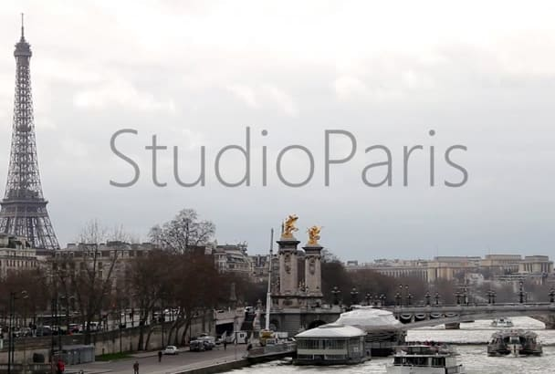 do video shooting in Paris for you