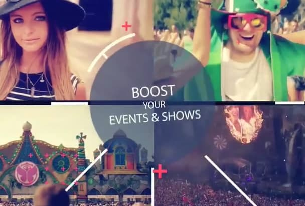 make vibrant party video to promote your events