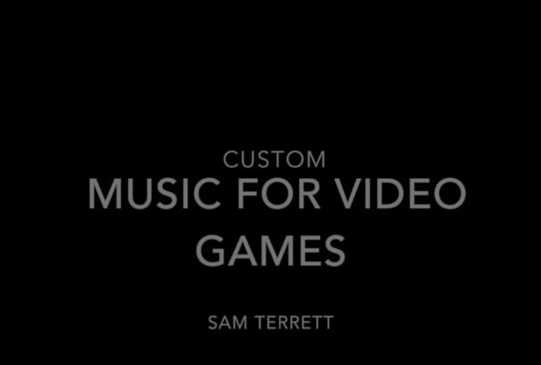 make compelling original music for your video game or app