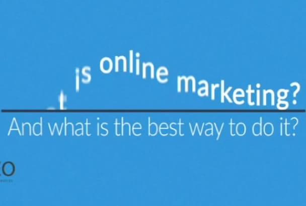 get instant Start Online Marketing , SEO  Amazing