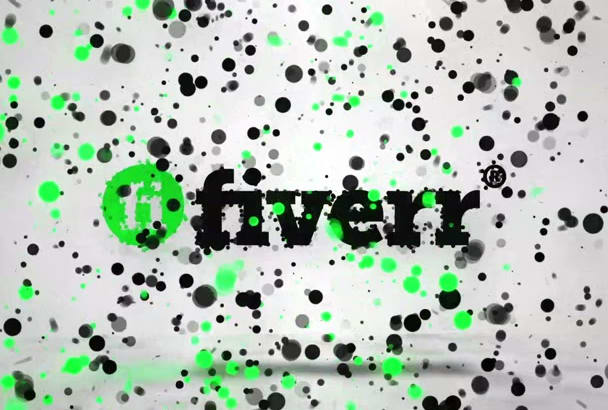 make Amazing Particles Logo Animation