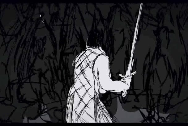 make a beautiful sketch animation