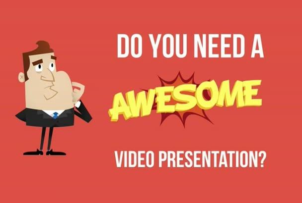 create Animated Explainer Video Presentation
