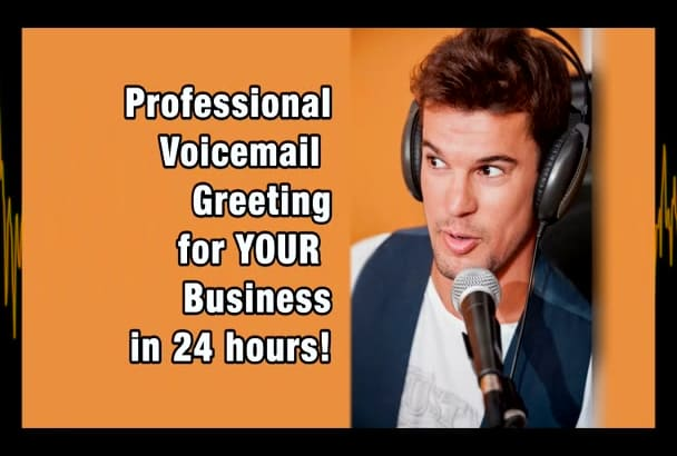 record a voicemail greeting for your business