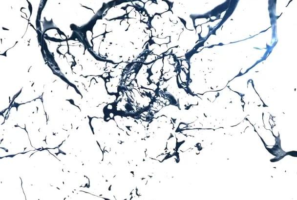 create SUPERCOOL splash video intro