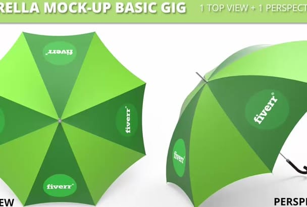 put your logo or image on an umbrella