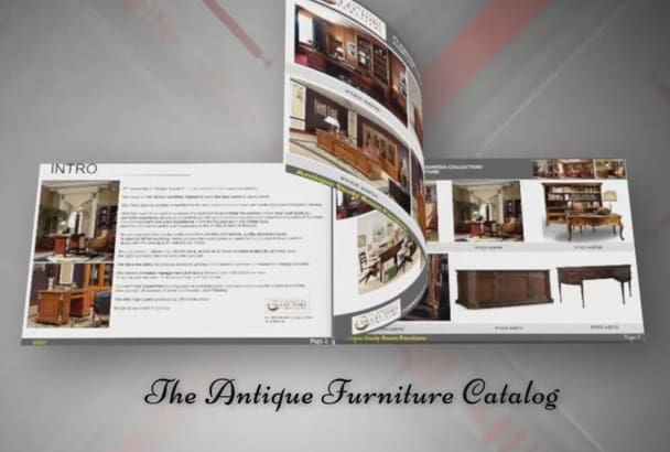 turn your 10 product pages into ecatalogue or video Animation