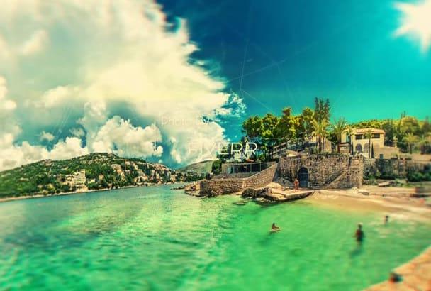 make AMAZING Panoramic Dramatic  Slideshows Photo Video