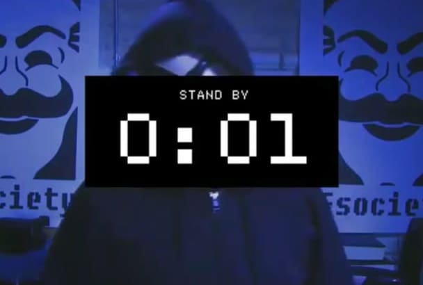 create fSociety MrRobot video for you
