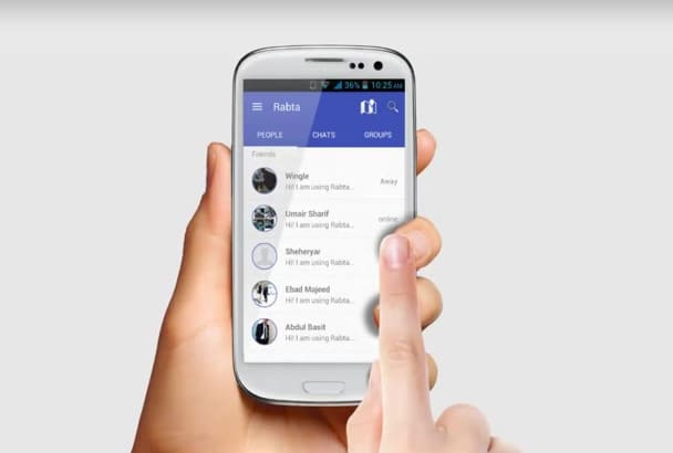develop a mobile application for your innovative idea