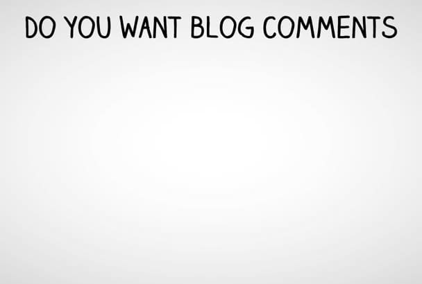 write 5 positive blog comments