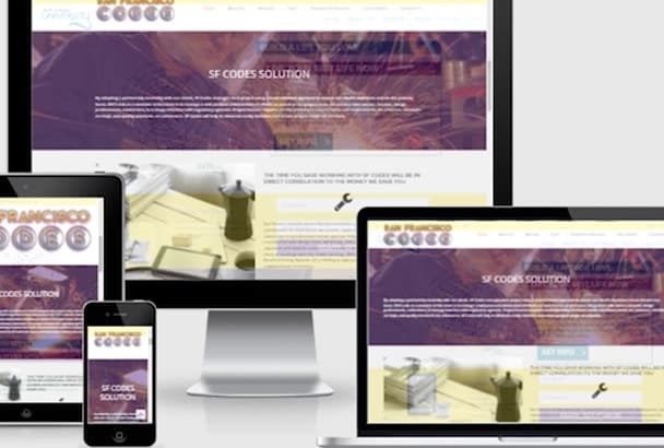 build a 2 page personal website