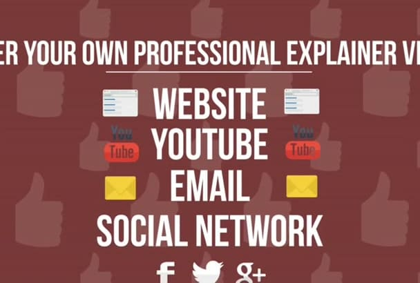 create a Professional Animated Explainer Video