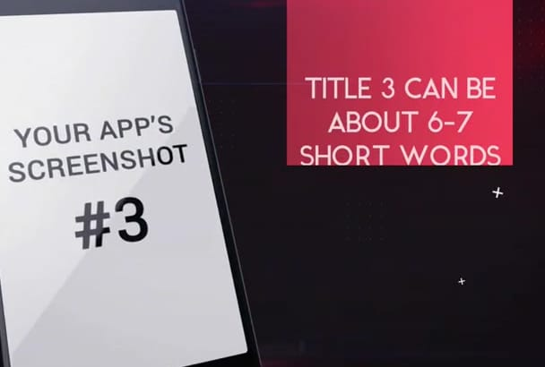 create a trendy mobile app promo video