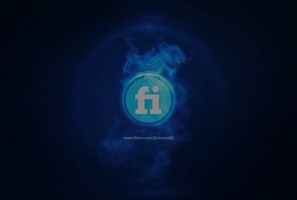 create 2 logo intro for you