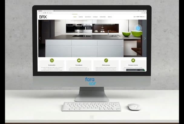 design beautiful and fully RESPONSIVE Website