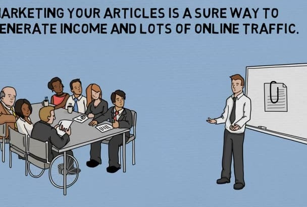 show you secrets of generating TRAFFIC by marketing articles
