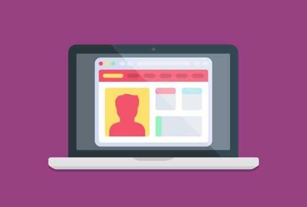 create a professional WordPress site