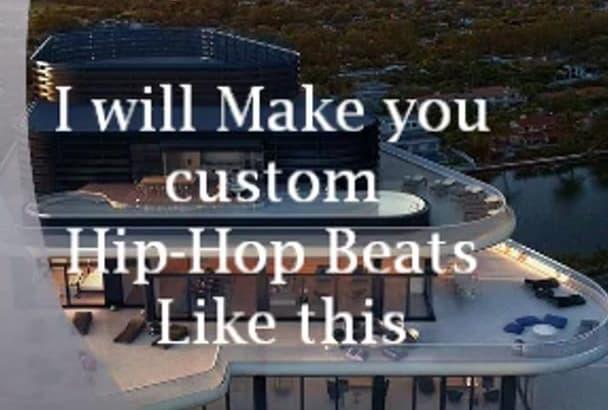 make a custom beat of any genre