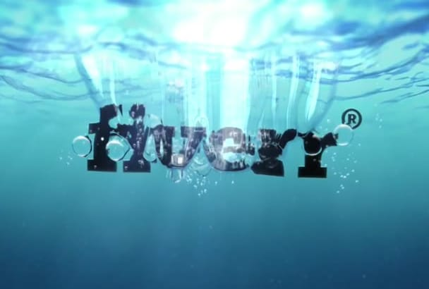 create Underwater Logo Intro Video