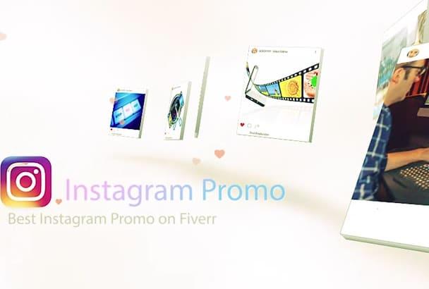 make Cool Instagram Promo Video
