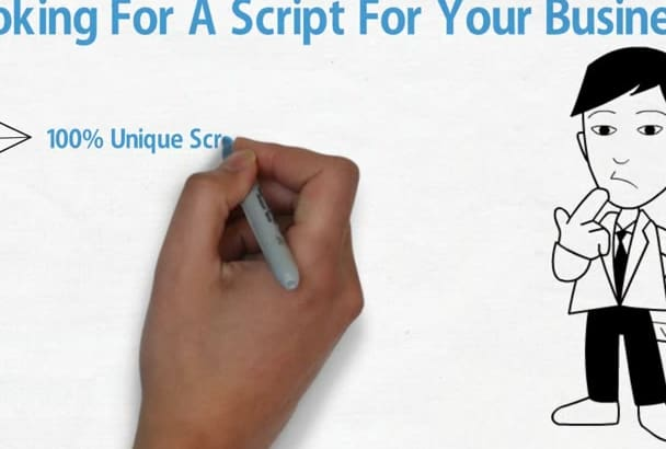 write An AMAZING Video Animation Script Within 24 Hours