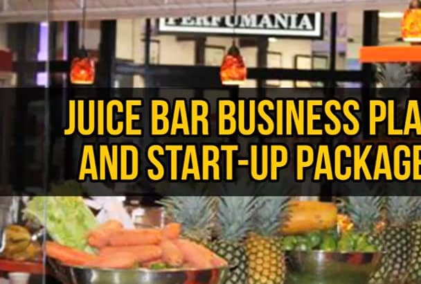 juice bar business plan