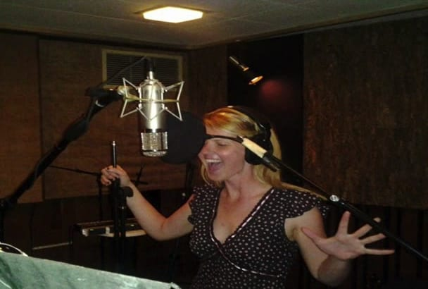record a Female Voice Over
