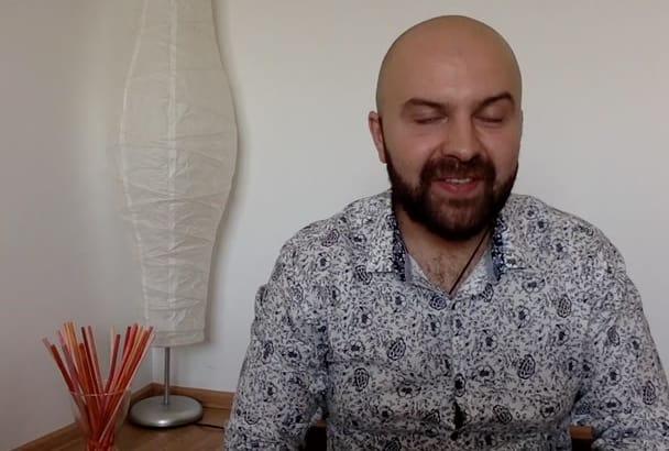 create a professional  video
