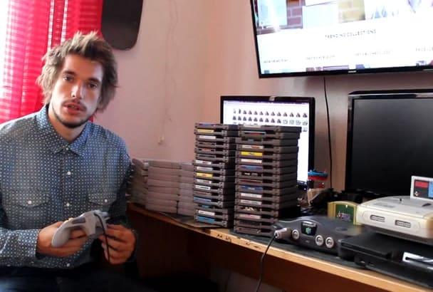 make Video Testimonial in my Gaming room