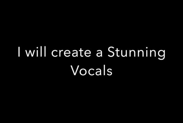 create a stunning Dance Vocals