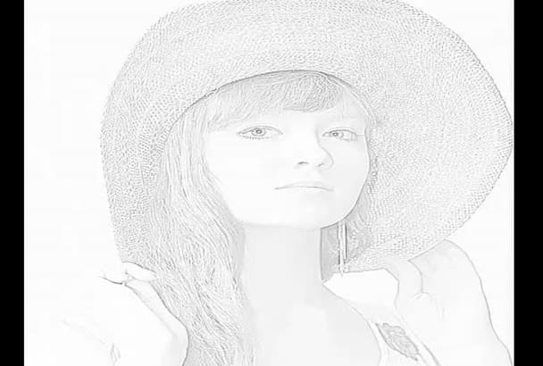 turn your 2 photo into an amazing pencil sketch
