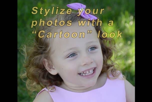 make your photo or video look like a cartoon