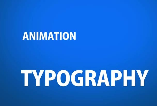make Modern and Stylish TYPOGRAPHY promotional video