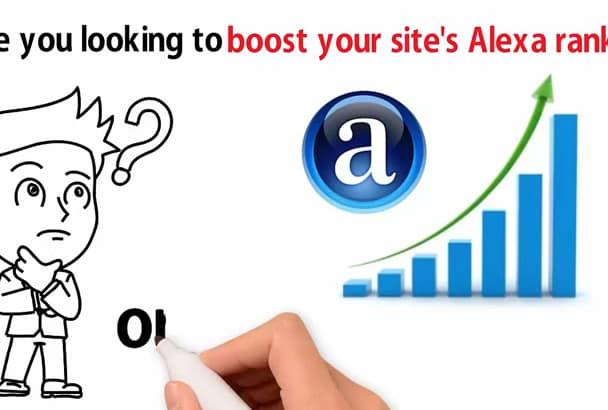 boost USA Alexa Ranking Under 50k