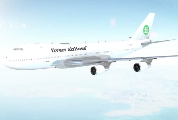 advertise Amazing Airlines Video Intro