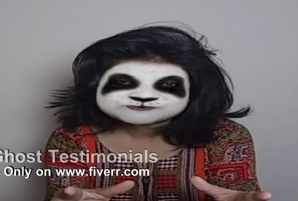 do ghost testimonial videos