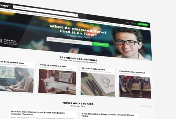 make WEBSITE promotional video