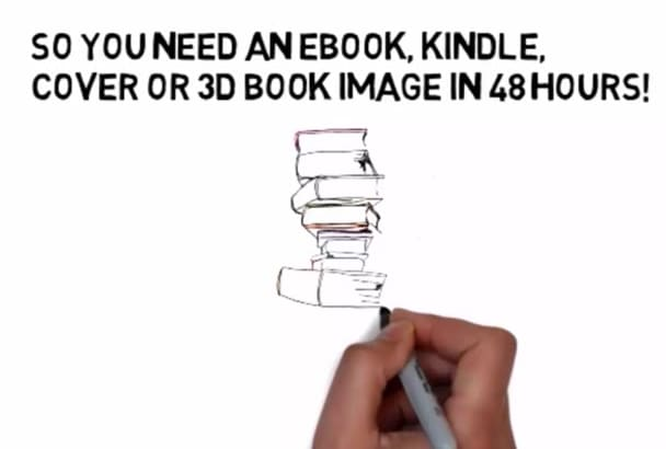 create an eBook,  Kindle, Cover or 3D Book Image in 24 hours