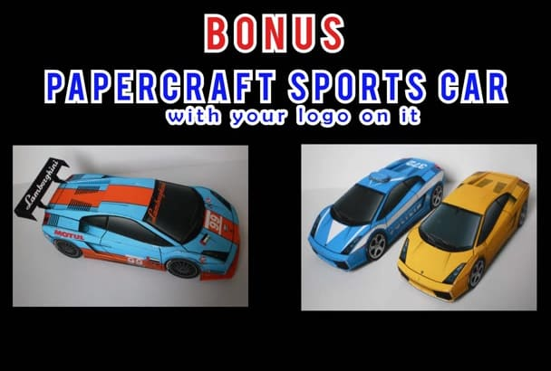 create 2 AMAZING video intro with Sport car