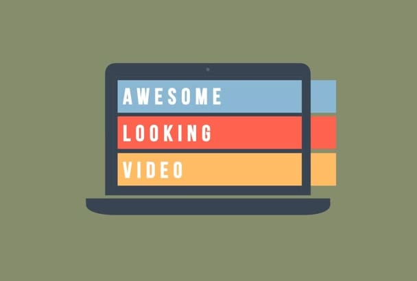 produce a flat icon explainer video