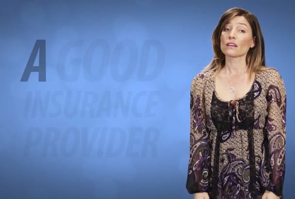 create an Amazing INSURANCE Provider commercial