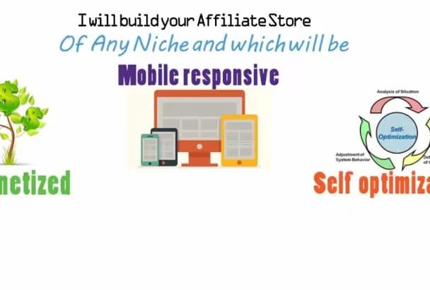 create a Dynamic amazon affiliate Website