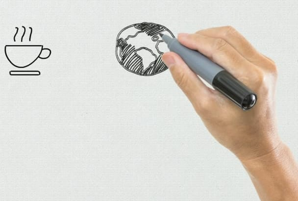 animate an explainer whiteboard video for your demands