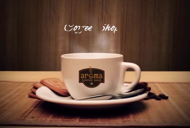 make coffee shop video advertisement