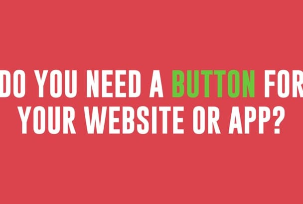 design your CUSTOM web buttons