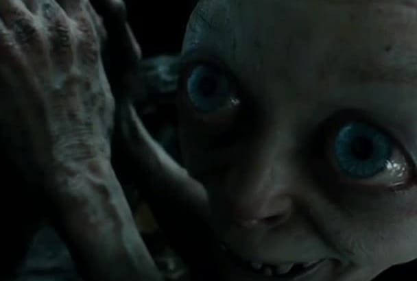 deliver any message as Gollum