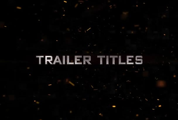 amazing cinematic movie trailer templates