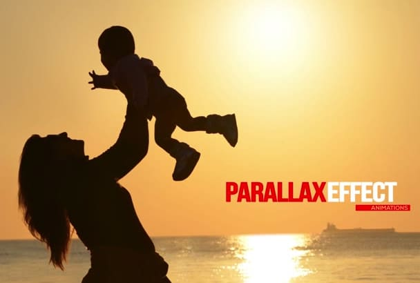 make your Still Photos come to life using a Parallax Effect
